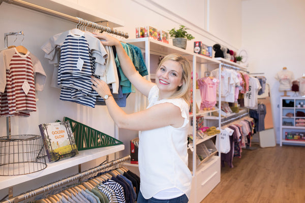Made in Mankato women leading manufacturing baby and childrens clothing jenna odegard bumbelou