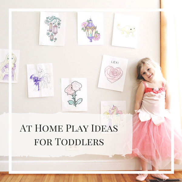 at home play with toddlers