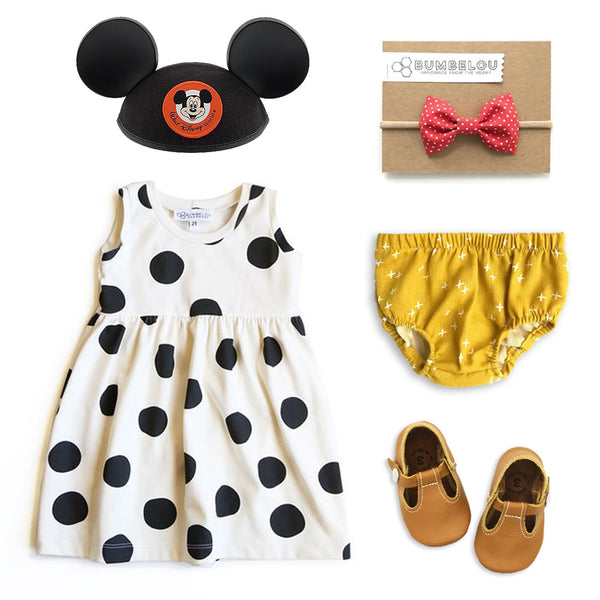 Disney inspired girls outfit