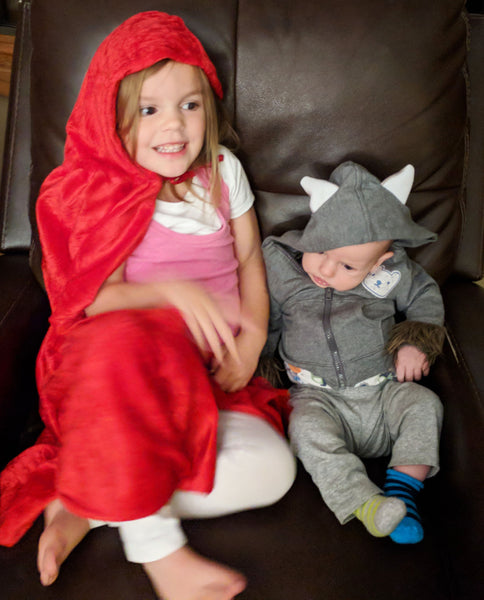 goldilocks and wolf toddler pair costumes by bumbelou