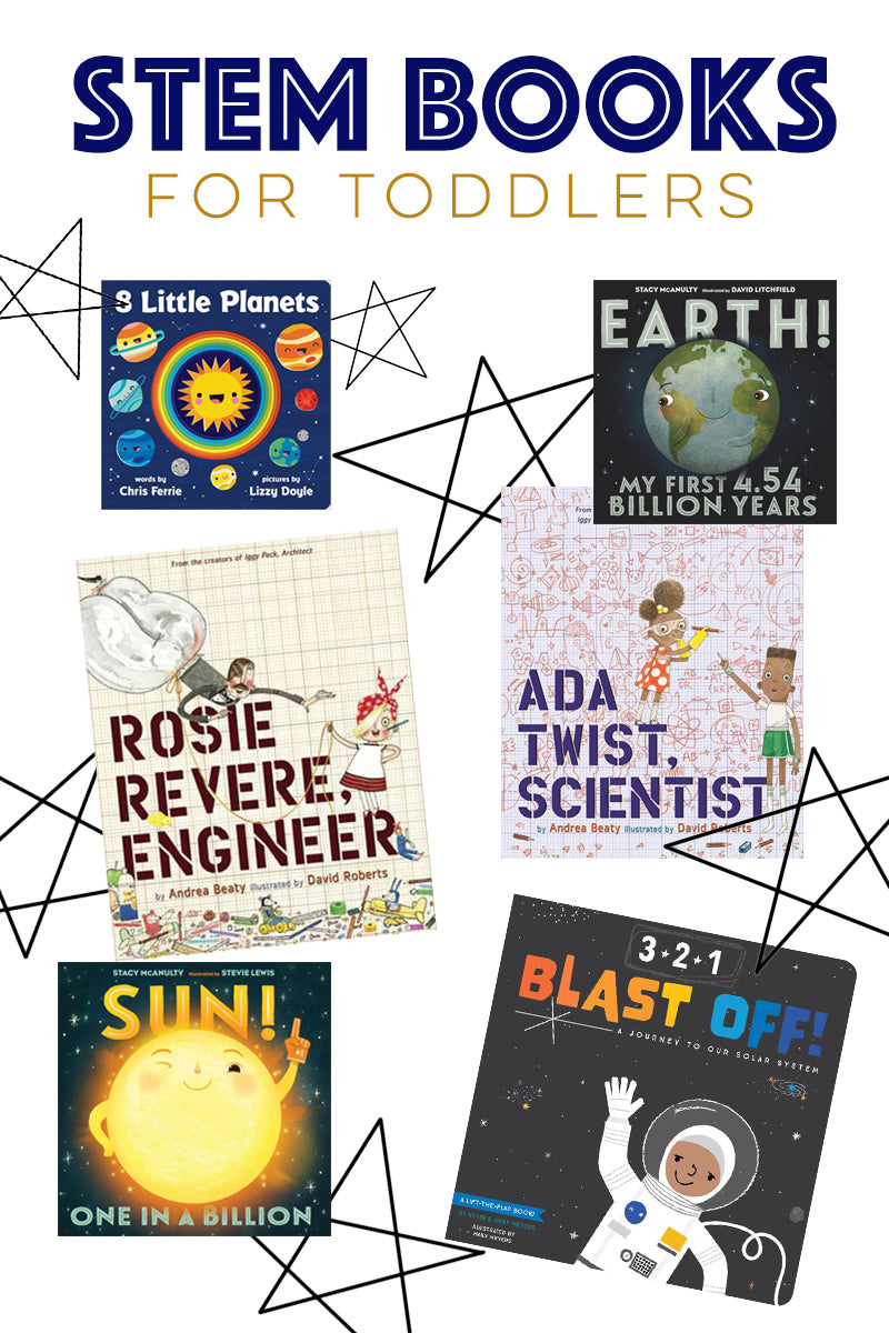 STEM books for toddlers
