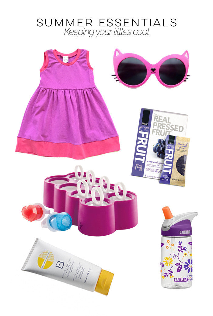 Summer Essentials for Toddlers Cool treats and outfit ideas