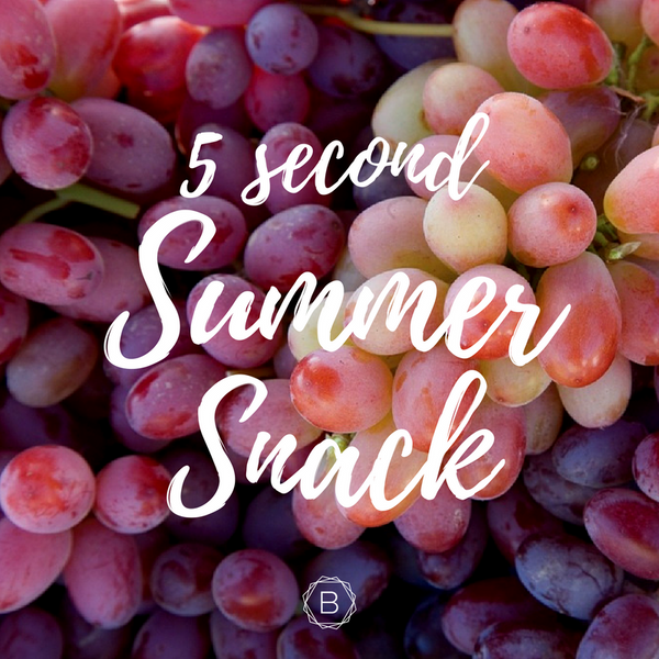 5 second summer snack