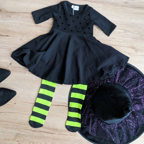 simple witch costume for toddlers