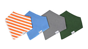 Baby Bandanna Bib Set of 4 - Jackson