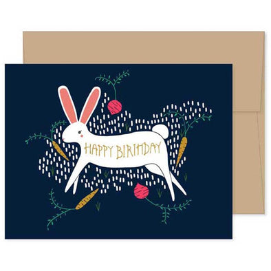 Gingiber - Birthday Bunny Card