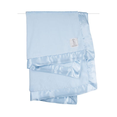 Little Giraffe Luxe™ Baby Blanket - Blue