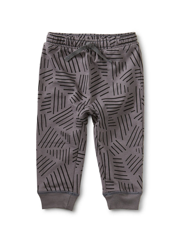 Printed Jogger - Etchings