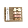 Mini Bows - Blush Neutrals