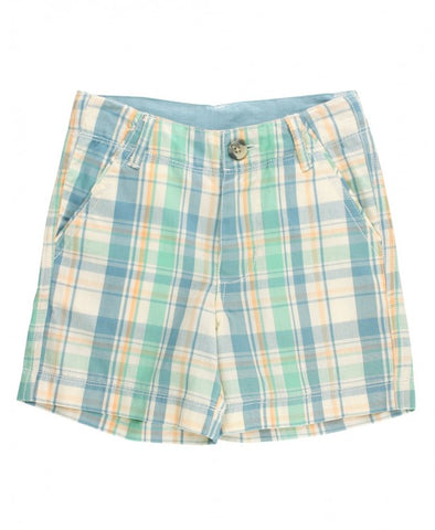 Hampton Plaid Short