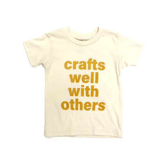 Crafts Well With Others - Cream Tee