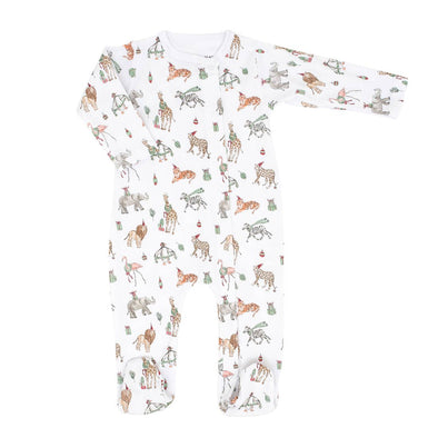 Holiday Safari Footie Romper