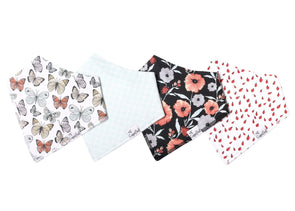 Baby Bandanna Bib Set of 4 - Dot