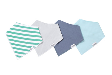 Baby Bandanna Bib Set of 4 - Oxford