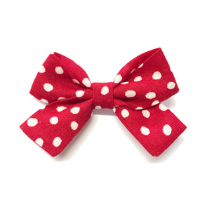Jane Bow - Red Dotty