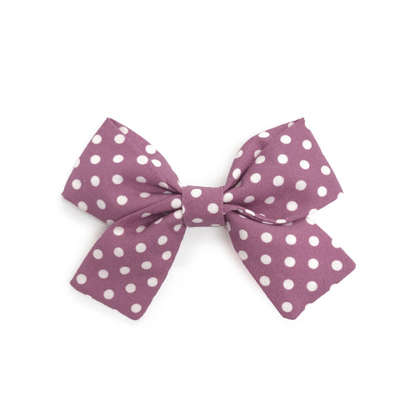 Jane Bow - Lilac Dotty