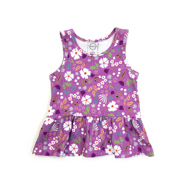 Peplum Tank - Spring Bloom