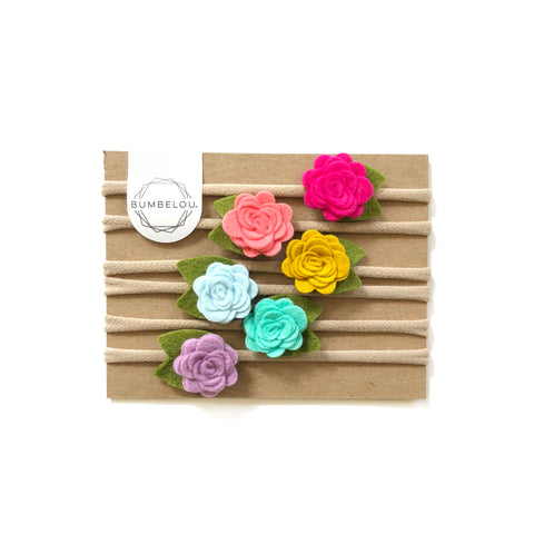 Mini Roses - Rainbow Set
