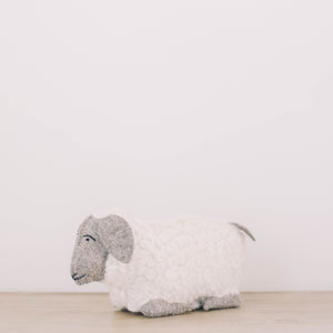 Wool Sheep Weighted Door Stop