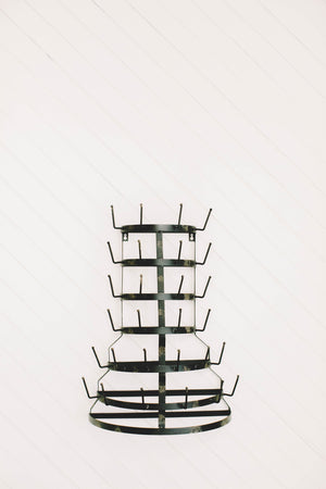 Black Metal Drying Rack