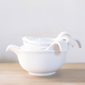 White Serving Bowls (Set of 4)
