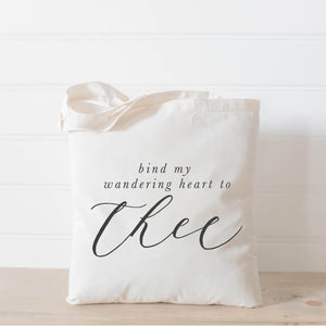 Bind My Wandering Heart to Thee Tote Bag