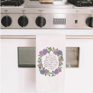Ephesians 2 Tea Towel