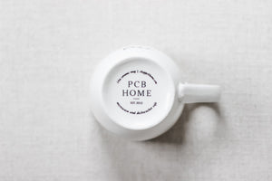 Pajamas All Day Ceramic Coffee Mug