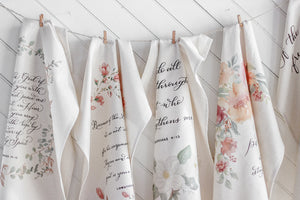 Psalm 139 Hanging Tea Towel