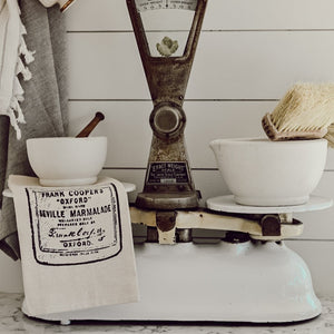 Vintage Marmalade Jar Tea Towel