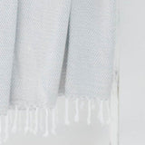 Light Grey Accent Throw Blanket