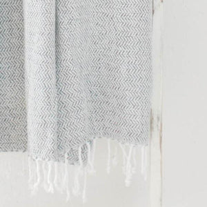 Grey Accent Throw Blanket
