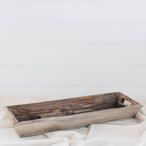 Decorative Rectangle Wood Tray