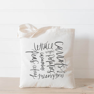 Veggies Tote Bag
