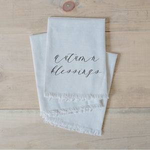 Autumn Blessings Napkin