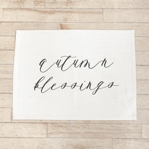 Autumn Blessings Placemat