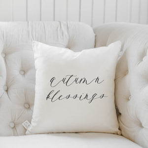Autumn Blessings Pillow