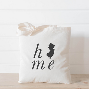 Personalized Home State Tote Bag
