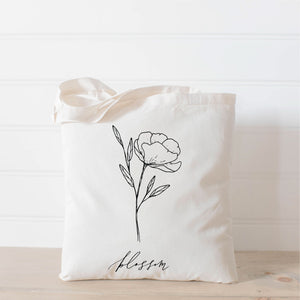 Blossom Wildflower Tote Bag