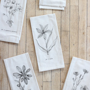 Botanical Tea Towel