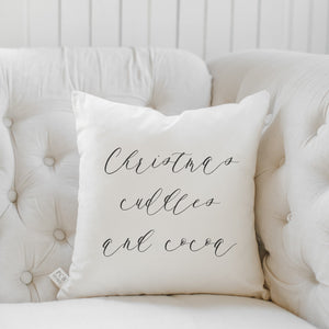 Christmas Cuddles & Cocoa Pillow