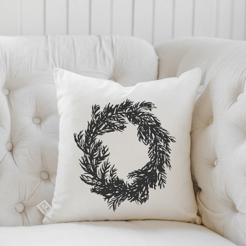 Chrsitmas Wreath Pillow