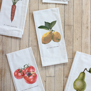 Fruits/Veggies in Color Tea Towel