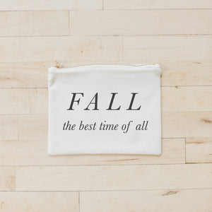 Fall the Best Time Cosmetic Bag