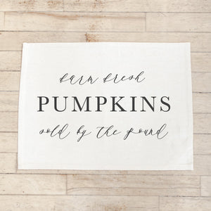 Farm Fresh Pumpkins Placemat