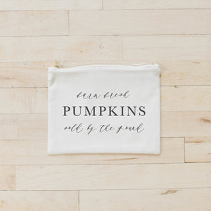 Farm Fresh Pumpkins Cosmetic Bag