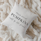 Farm Fresh Pumpkins Pillow