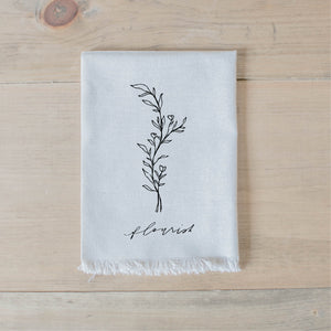 Flourish Wildflower Napkin