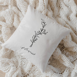 Flourish Wildflower Pillow