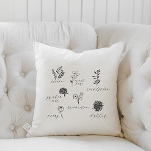 Flower Type Pillow
